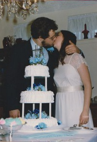 Wedding Cake Kiss © Paul H. Byerly