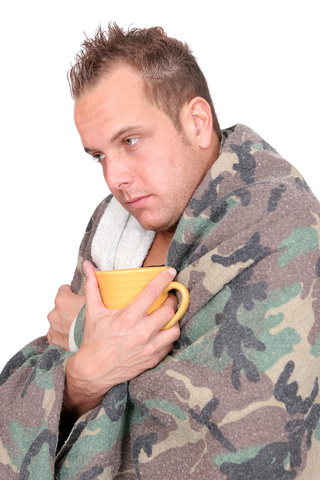 Sick man © Matt Antonino | Dreamstime.com