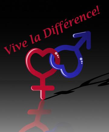 Vive La Différence! © Lightkeeper | Dreamstime.com