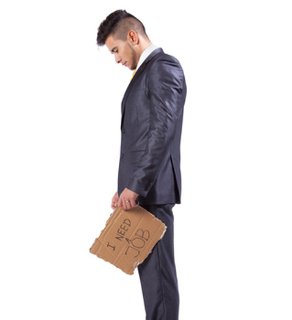 Sad jobless man © Helder Almeida | Dreamstime.com