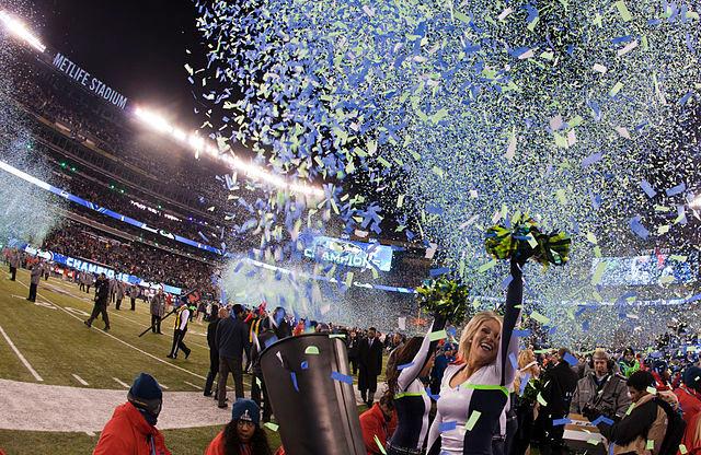 Seahawks win Super Bowl XLVIII © Anthony Quintano   Wikimedia Commons