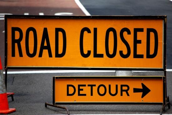 Road Closed © sourabhj | dollarphotoclub.com