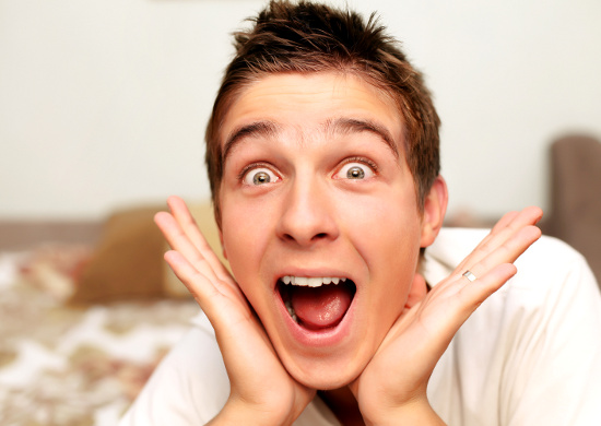 Excited man © Sabphoto | dollarphotoclub.com