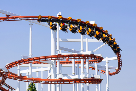Roller Coaster © isuaneye | dollarphotoclub.com
