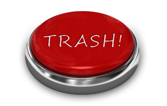 Trash Button  © denisismagilov | stock.adobe.com