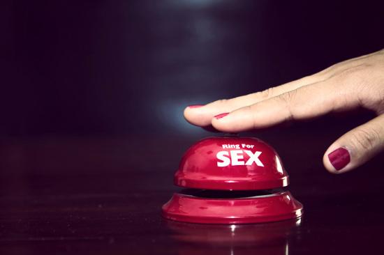 Woman ringing sex bell © jcomp | stock.adobe.com
