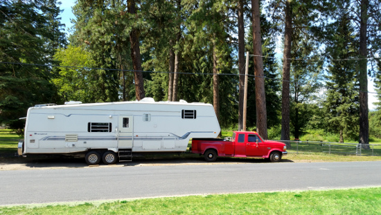RV at MixPark © Paul H. Byerly